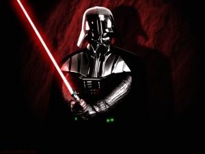 Lo siento Vader, pero tu sable que solo tiene de 0'5 a 50 milivatios de potencia no es rival para los jedi.